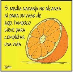21 Mejores Imágenes De Media Naranja Naranja