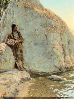 インディアン(ネイティブ・アメリカン)の貴重なカラー化写真 (21)