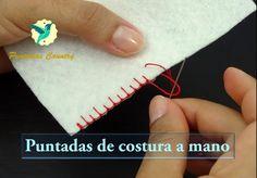 Puntadas para coser a mano