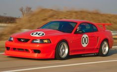 Before the 2013 Shelby GT500 there was this, the 2000 Mustang Cobra R.