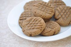 Nourishing Meals: Peanut Butter Cookies ~ Gluten-Free & Vegan