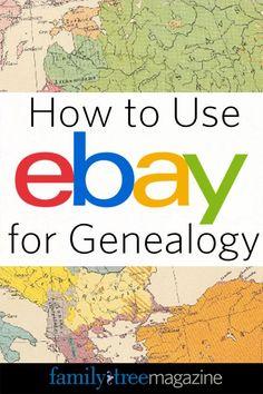 How to Use eBay for Genealogy| #genealogy #familytree #GenealogyandTechnology