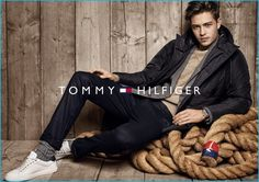Francisco Lachowski fronts Tommy Hilfiger's fall-winter 2016 campaign.