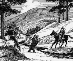 """Bears, as we occasionally reminded when one comes to visit a """"civilized"""" neighborhood, are a part of California's history. Riders capture a grizzly bear. Courtesy of the Security Pacific National Bank Collection, Los Angeles Public Library. Alta California, Los Angeles California, Southern California, Gladiator Games, Keystone Species, San Gabriel Mountains, Bear Photos, Mountain Lion, Los Angeles Area"""
