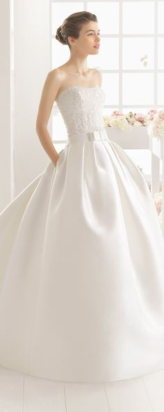 Aire Barcelona 2016 Wedding Dress - Belle The Magazine Aire Barcelona Wedding Dresses, 2016 Wedding Dresses, Wedding Gowns, Lace Wedding, Romantic Wedding Colors, Perfect Wedding Dress, Wedding Dress Crafts, Bridal And Formal, Wedding Gallery