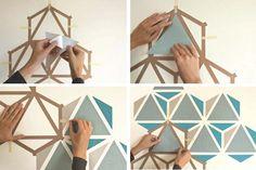дневник дизайнера: Веселая геометрия на стенах! Оригинальные идеи дизайна…