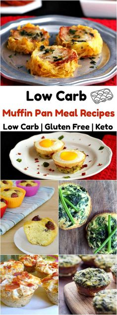 Muffin Pan Meal Recipes Low Carb and Gluten Free
