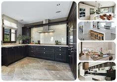 Beautiful & Modern Kitchen Ideas.  Simple ideas can make all the difference in the look and feel of a kitchen.  Kitchen cabinets & shelves draw attention to guests' eyes. http://www.impressiveinteriordesign.com/beautiful-and-modern-kitchen-design-ideas/