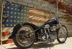 'FrankenPan' 1949 Harley Davidson Panhead by Caleb Owens of Cro Customs