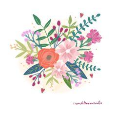 Bouquet for her  Instagram: @iamlilliancreates