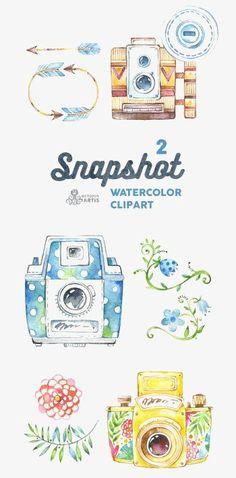 La caméra à la main de collecte Gratuit PNG et Clipart