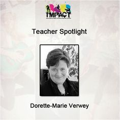 """""""Music has always been a part of my life, it is my passion and I hope to share it with everyone I meet through my teaching and performing"""".  Dorette is our music tutor, and has been with us for a long time!   She began her affair with music at an early age. Already a piano player, she discovered her first love, clarinet, at age 9 and joined the Hugo Lambrechts Music Centre, where she studied under Kim Malan and Leon Hartshorne.  #impact #dance #teacher #spotlight #musicanddancelove"""