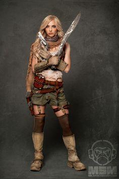 MSM Zombie Hunter Extras - Whitney Cordray 3699m by djmonkeyboy.deviantart.com on @deviantART