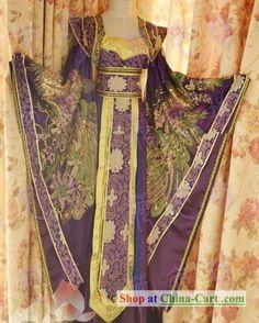 Ancient Chinese Empress Phoenix Costume Complete Set