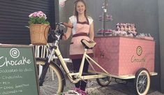 Bicicleta para vender nas ruas