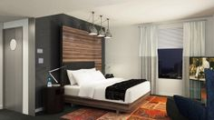 Hotel Zetta San Francisco offers a high level of sophistication and service without taking itself too seriously. The vibrant décor and sustainable architecture lend an innovative, creative vibe, while the high-tech conveniences, oversize guestrooms and plush pillow top beds keep things modern and always relaxed. #BoutiqueHotel https://stayful.com/san-francisco-hotels/hotel-zetta