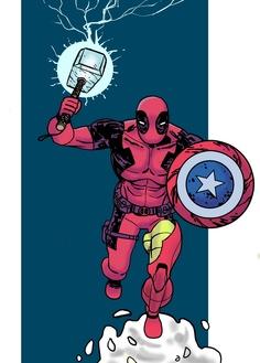 Deadpool: All-in-one Avenger