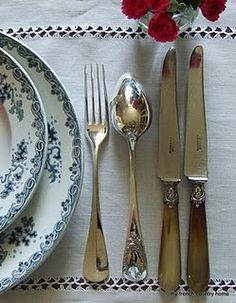 southrern table setting