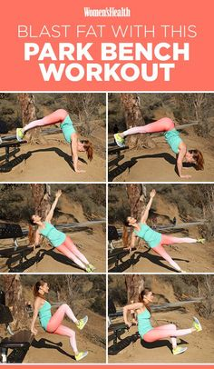 You Can Do This Fat-Blasting Outdoor Workout Almost Anywhere