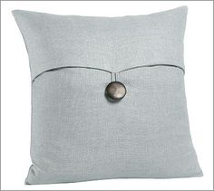 Pottery Barn Pillow in Blue Smoke