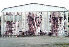 BORONDO http://www.widewalls.ch/artist/borondo/ #streetart