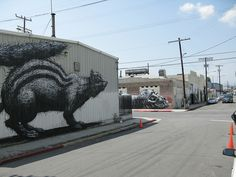 Los Angeles-imperial x Jesse by ROA !, via Flickr