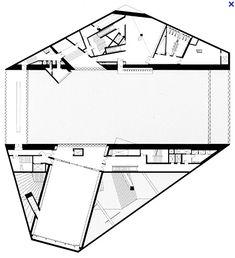 Rem Koolhaas - Casa da Musica - plan