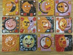 Mrs. Knight's Smartest Artists: Clay works in all grades