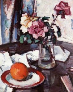 Reproduction with Oil painting effect of painting made by Peploe Samuel - Still Life 1930 Painting Still Life, Still Life Art, Guache, Art Uk, Your Paintings, Art Techniques, Find Art, Painting & Drawing, New Art