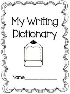 Freebie Writing Dictionary! Efl Teaching, Teaching Grammar, Free Teaching Resources, Teaching Writing, Teaching Strategies, Dictionary Skills, Improve Writing, Information Literacy, School Worksheets