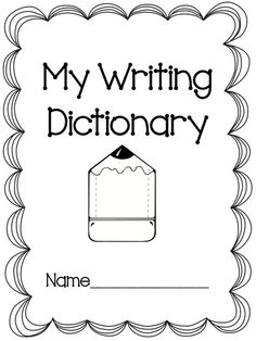 Freebie Writing Dictionary!