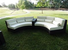 Picture of Round Sectional 3Pcs Set