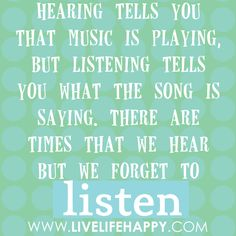 I hear a majority of the time... hence why the song lyrics are normally wrong :)
