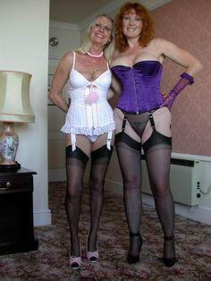 stockings mature amateur