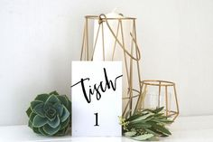 Table Numbers Digital File Wedding Birthday Overseat Seat Arrangement Rustic for DIY Self Print Plant Hanger, Etsy, Plants, Home Decor, Wedding Table Markers, Wrapping, Table Seating, Perfect Wedding, Save My Money