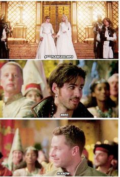 Once Upon A Time - Captain Swan and Snowing <3