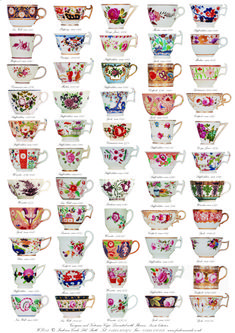 Frederica Cards - Greetings Cards and wrapping paper with classic British design Tea Art, Vintage Tea, High Tea, Afternoon Tea, Tea Time, Tea Cups, At Least, Wraps, Pottery