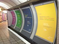 #techbrum - Our ad campaign at Old Street tube station, London