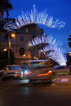 Abroadway bienvenue ! Menton 2013 by Blachere Illumination France