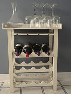 DIY#Wine Rack# Furniture