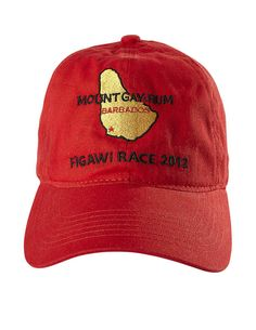 Figawi Race 2012 Souvenirs - Mount Gay Rum Red Cap - Town & Country Magazine