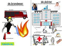 Beroepen : de brandweerman / de dokter