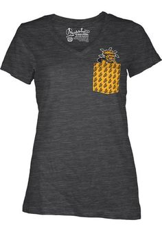 Wichita State Shockers Womens Short Sleeve Pocket T-Shirt http://www.rallyhouse.com/shop/wsu-womens-tshirt-emerald-22640516?utm_source=pinterest&utm_medium=social&utm_campaign=Pinterest-WSUShockers $24.99