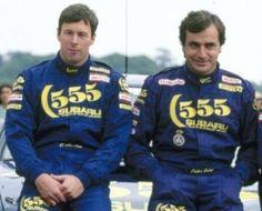 Legend in the making. Colin McRae and Carlos Sainz. Subaru Rally, Nfl, Colin Mcrae, John Collins, Rally Raid, Subaru Impreza, Latest Video, Courses, The Man