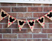 Mickey Mouse Banner, Mickey Mouse Birthday, Mickey Banner, Party Decorations
