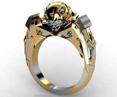 For the Person Who Transformed You: Transformers Bumblebee Ring - OhGizmo!