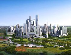 Architects reveal plan for China's first self sufficient, carless city
