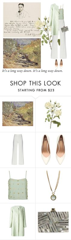 """""""Cinquant' anni insieme."""" by nascondigli ❤ liked on Polyvore featuring Alba Botanica, H&M, Topshop, Chanel, Mary Katrantzou and Kelly Wearstler"""