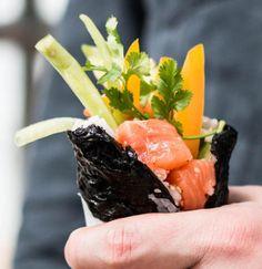 Mega geiles Sushi in der Größe eines Burritos? OH HELL YES!Und denkt dran: was auch immer passiert – nicht beim Rollen aufgeben!