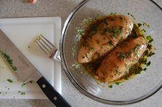 Voici LA seule et unique marinade pour vos poitrines de poulet..Facile, Rapide mais surtout délicieuse